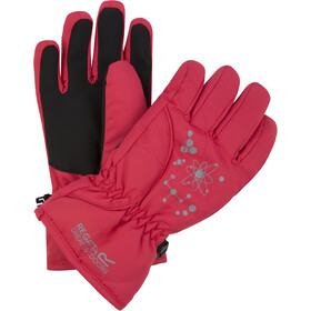 Regatta Arlie II Waterproof Gloves Kids bright blush